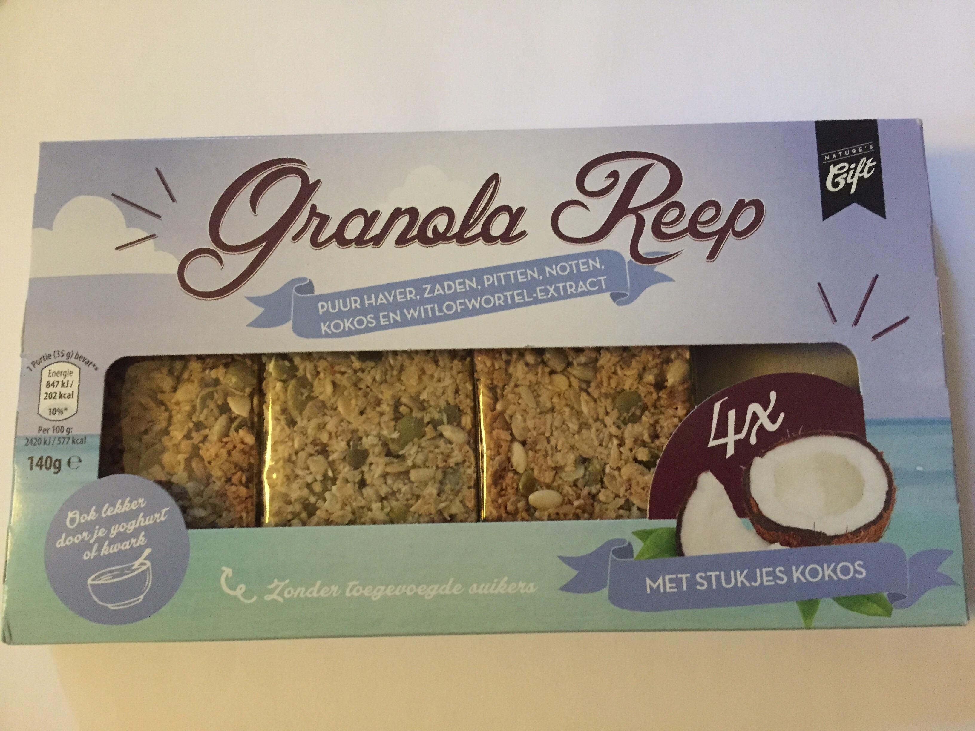 Aldi files: Gezond en verantwoord tussendoortje, een granola reep waar echt niks slechts in zit!