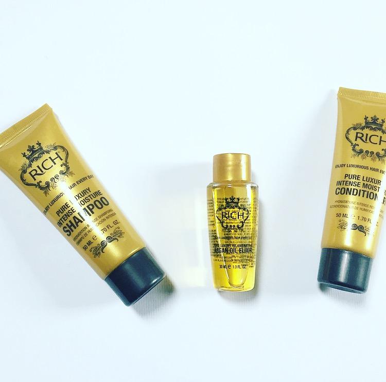 De favoriete shampoo van Rihanna? Dit moest ik proberen! Review: Rich Pure Luxury Intense Moisture Shampoo, Rich Pure Luxury Intense Moisture Conditioner en Rich Pure Luxury Rejuvenating Argan oil Elixer