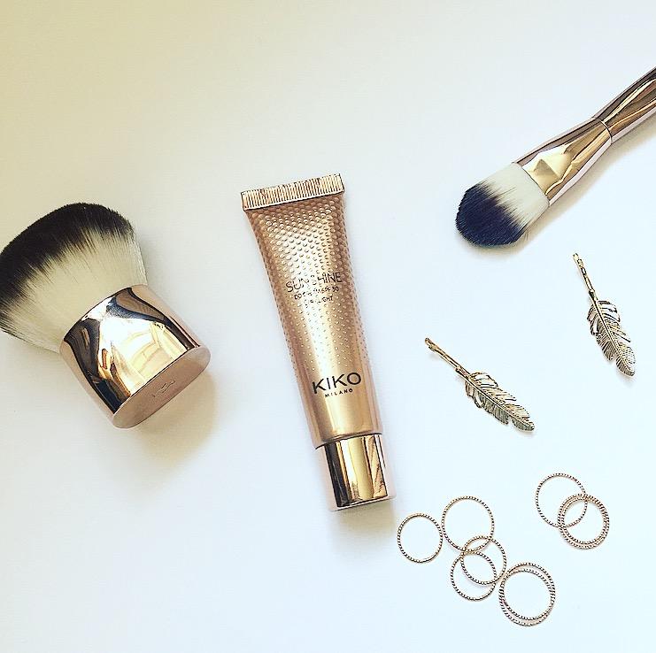Ik ging naar de Kiko en ik nam mee..Review: Kiko Sushine DD Cream, Kiko Wanderlust Facebrush en Foundation Face Brush