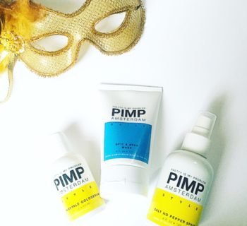 Review: Pimp Amsterdam No Fairytale Gold Serum, Salt No Pepper Spray en Spic & Span Mask