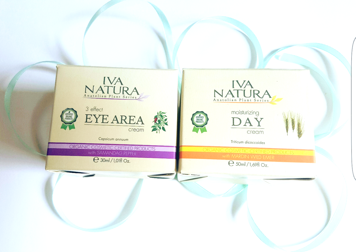 Review: Iva Natura Day Cream en Iva Natura 3 Effects Eye Area Cream