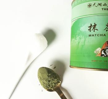 DIY: Matcha thee gezichtsmakser