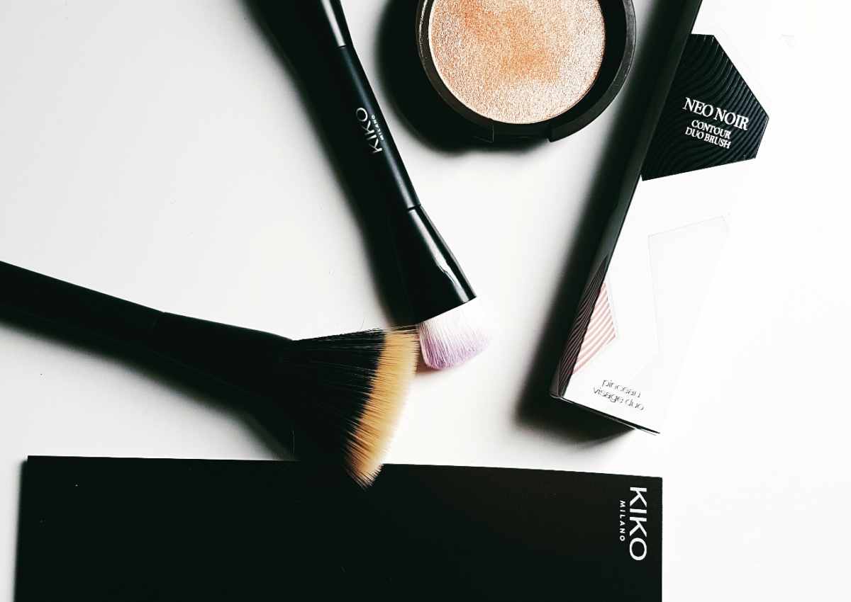 Kiko brushes aanraders?Review: Kiko Milano Neo Noir Contour Duo Brush en Face 106
