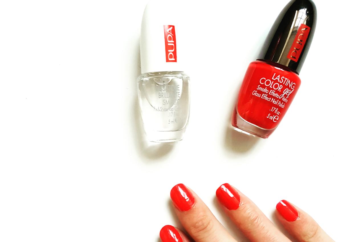 Rode nagels kunnen altijd toch? Tenminste dat vind ik! Review: Pupa Lasting Color Gel Nail Polish en Pupa Gel Top Coat