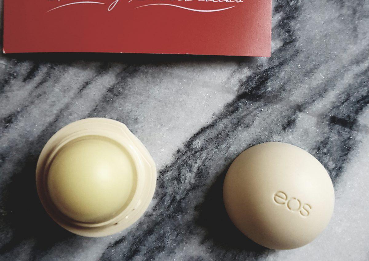 Lippenbalsems van Eos. Een klein product met veel voordelen?