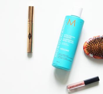 Een goede sulfaatvrije shampoo? Wat heb ik de afgelopen tijd gebruikt? Review: Moroccanoil Extra Volume Shampoo