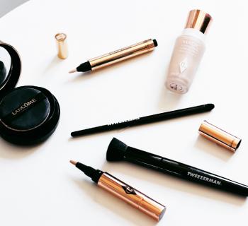 Make-up kwasten musthaves? Review: Tweezerman foundation flat top brush en pointed concealer brush