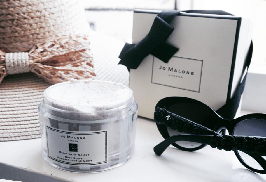 De lekkerste scrub voor de zomer? Review: Jo Malone Geranium & Walnut Bodyscrub
