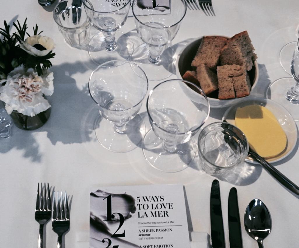 Diner en blanc with La Mer..