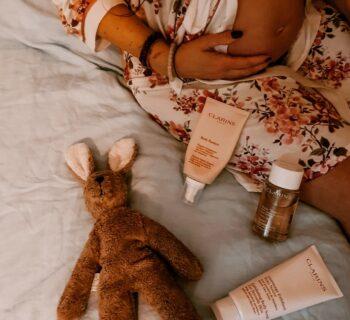 Clarins producten die speciaal geschikt zijn tijdens je zwangerschap.