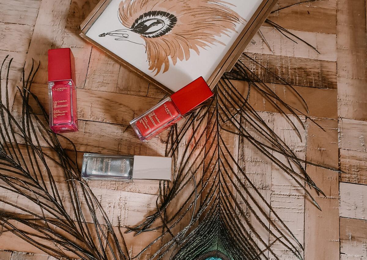Even weer een beauty review;) Clarins Lip Comfort Sparkling Oil Shimmer